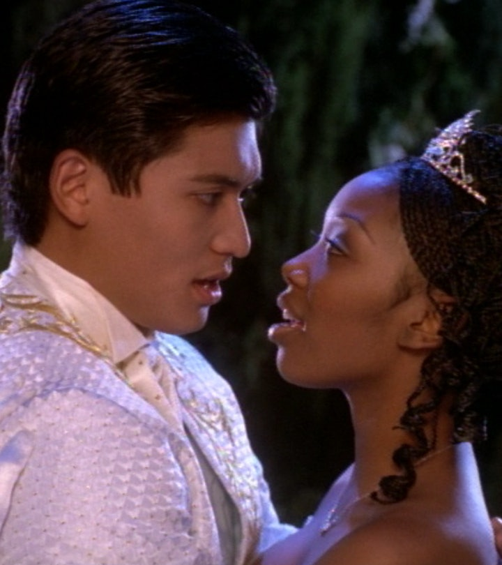Paolo Montalban and Brandy as the Prince Christopher and Cinderella