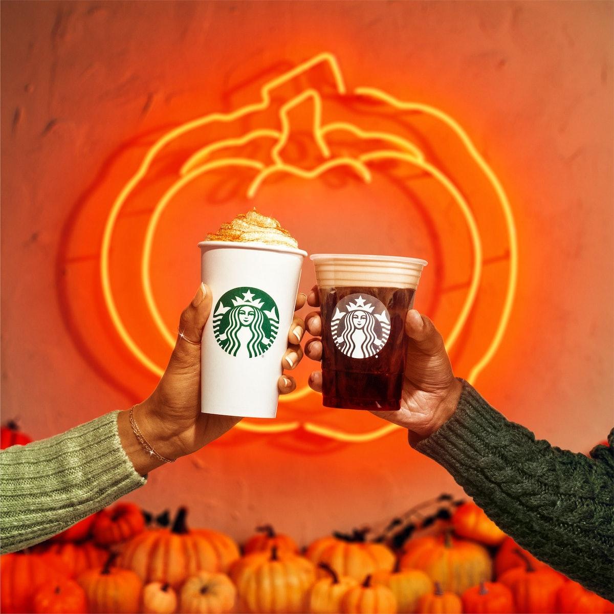Starbucks' Pumpkin Spice Latte is coming back on Aug. 24, 2021.