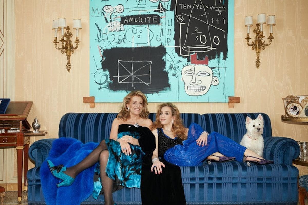 Stefania Sabbadini (left) and her daughter, Micól Sabbadini,