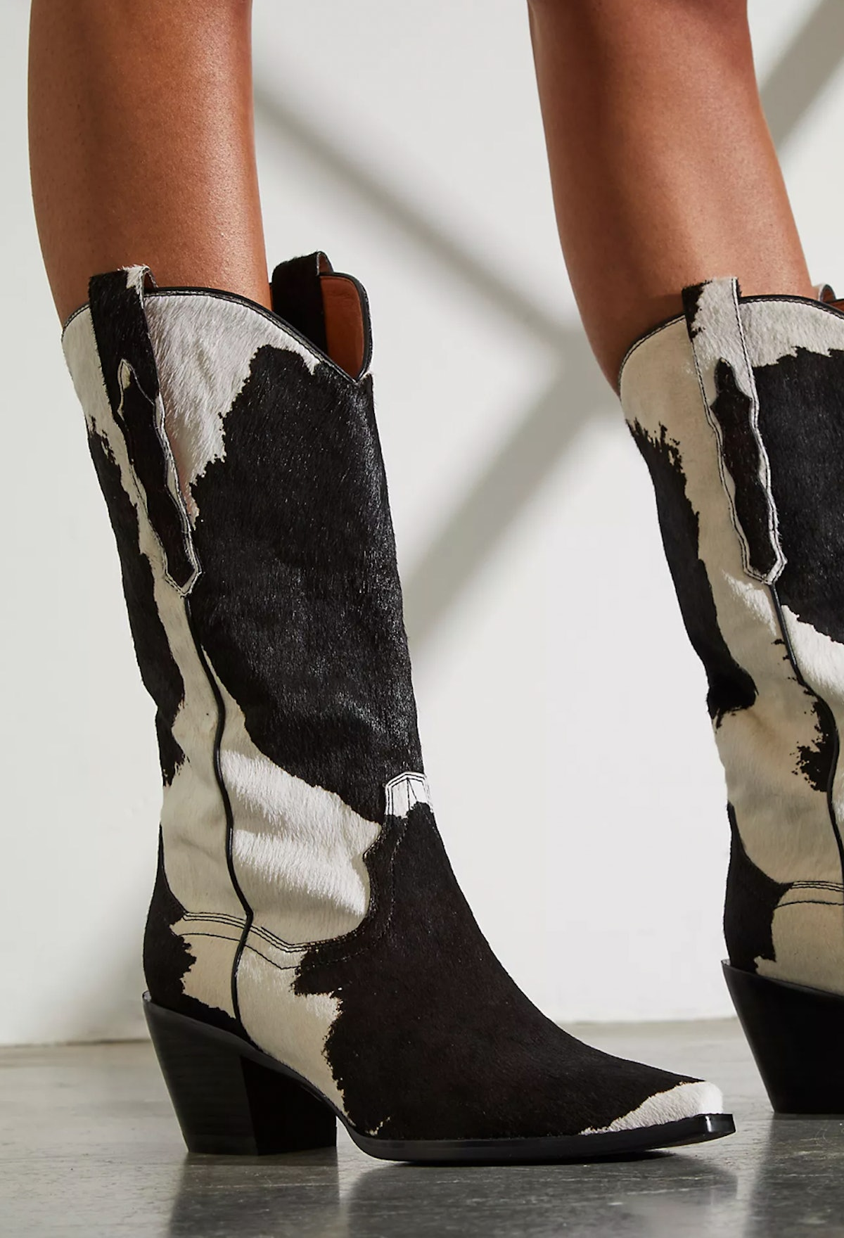 dagget printed western boot