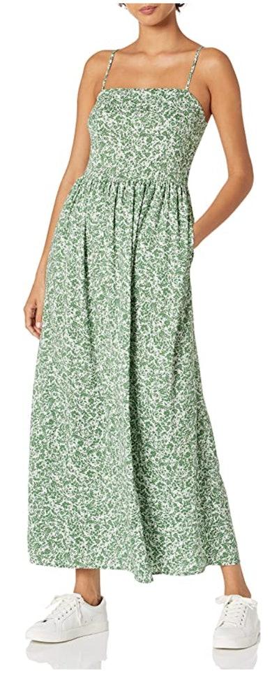 Goodthreads Georgette Smock-Back Cami Maxi Dress