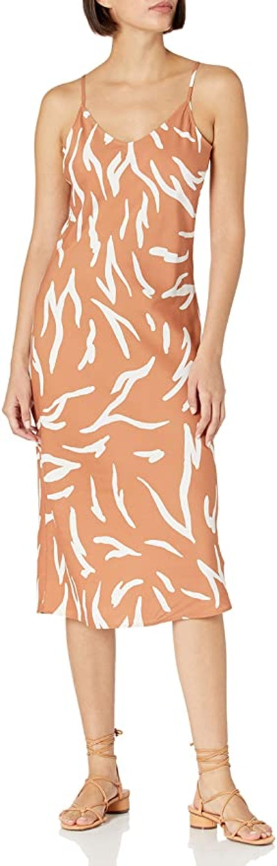 Daily Ritual Georgette Fluid Drape Slip Dress