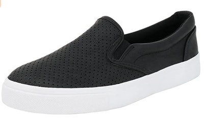 Soda Tracer Perforated Slip-on Sneakers