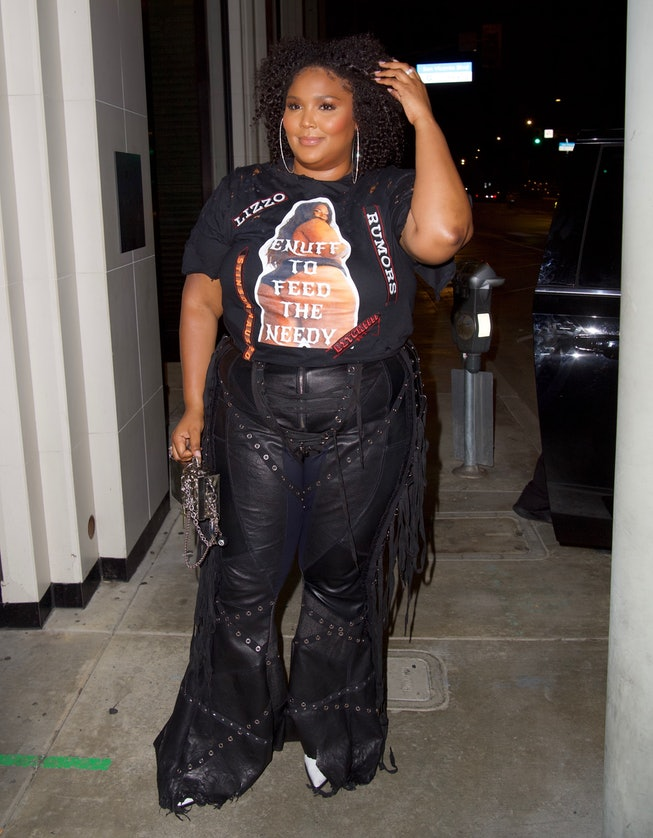Lizzo in custom Stinson Haus at Catch in West Hollywood, California, USA - 20 Aug 2021