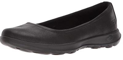 Skechers Unisex-Adult Go Walk Lite-15395 Ballet Flat