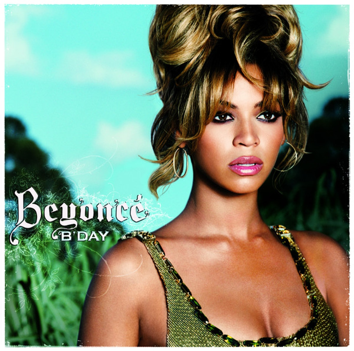 Beyonce's B'Day album cover