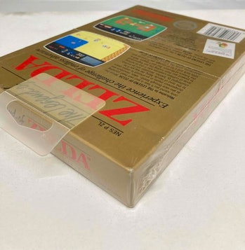 A sealed copy of the original Zelda was sold by a Goodwill store for $411,000.
