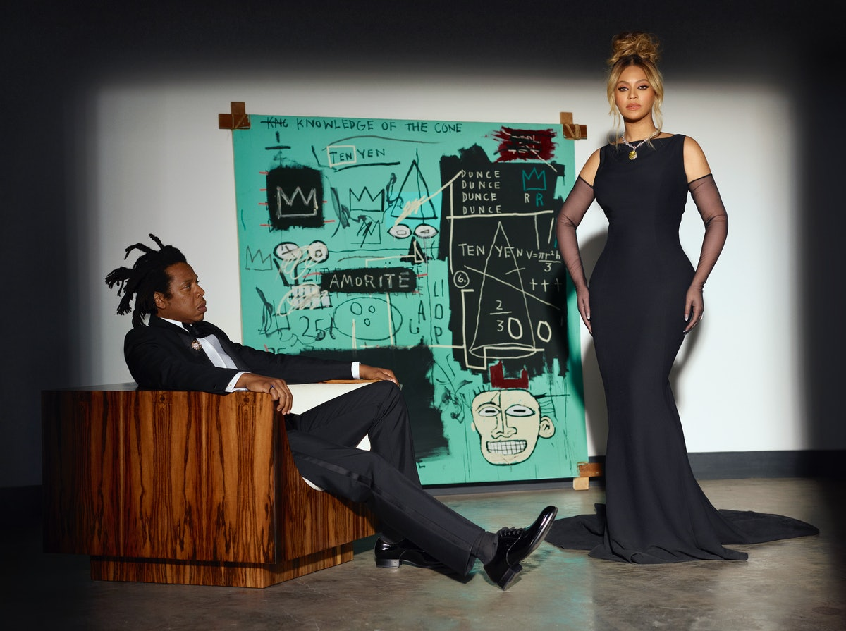 """Beyonce and JAY-Z pose in Tiffany & Co.'s """"About Love"""" campaign."""