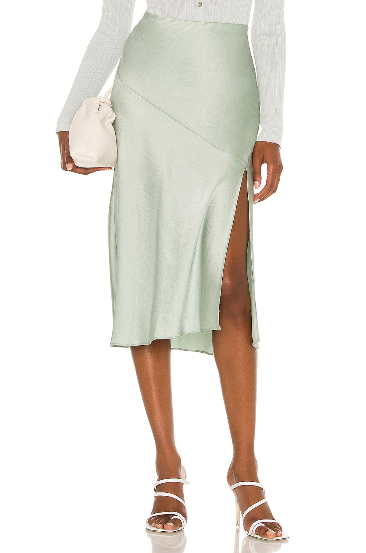 Nova Satin Skirt