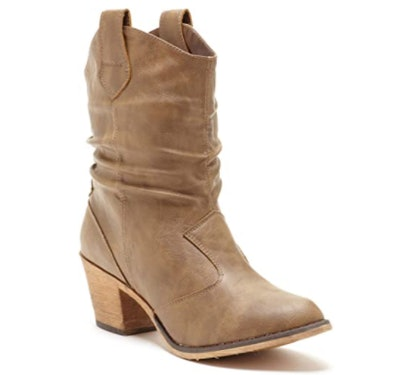 Charles Albert Distressed Cowboy Boots