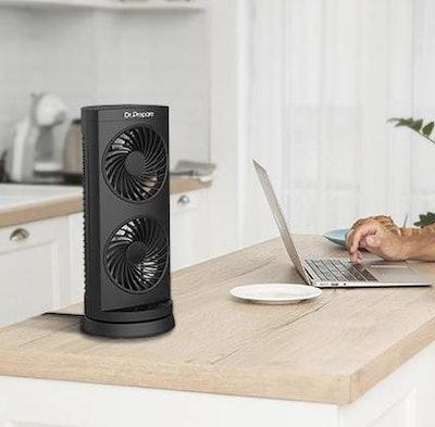 Dr. Prepare Dual-Circulation Tower Fan