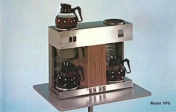 double coffee-maker