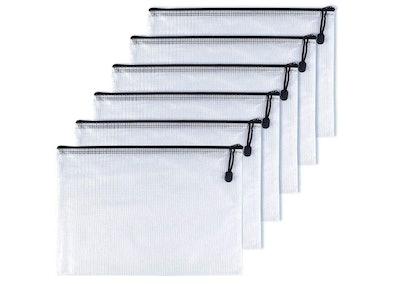 OAIMYY A4-Waterproof Tear-Resistant Travel Bags (6-Pack)