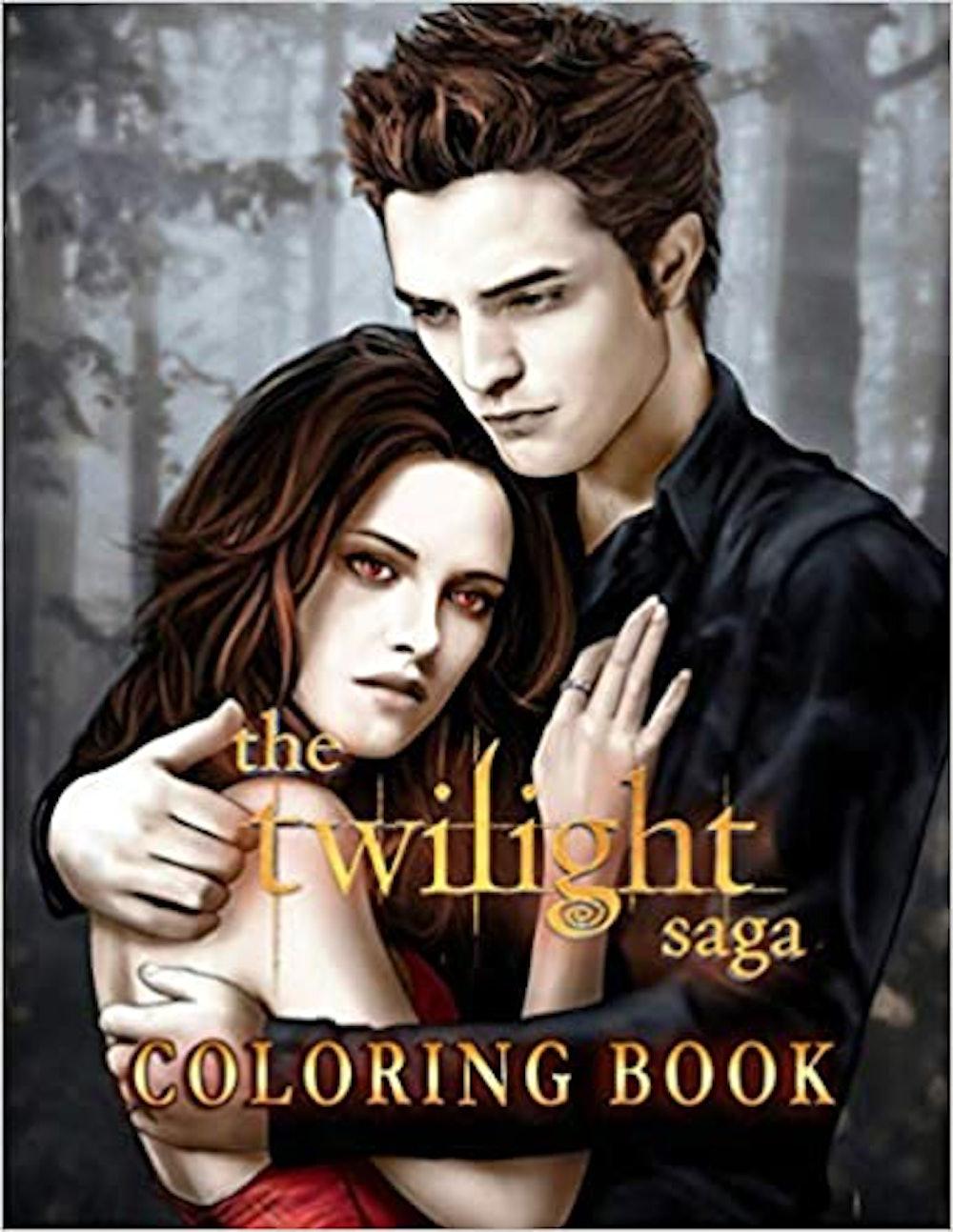 The Twilight Saga Coloring Book