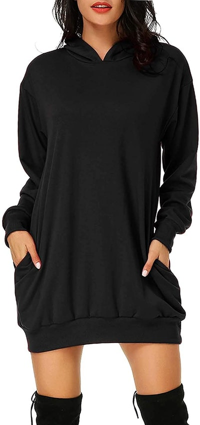 Auxo Long Sleeve Hooded Pullover