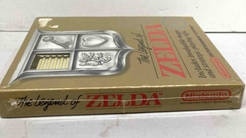 A Goodwill store in Connecticut sold a sealed copy of Zelda for $411,000.