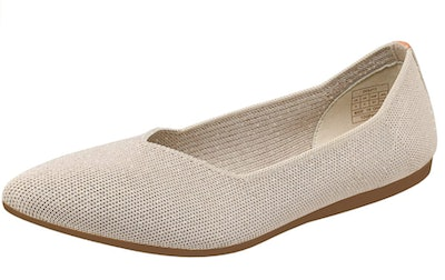 DREAM PAIRS  Work Pointed Toe Knit Flats