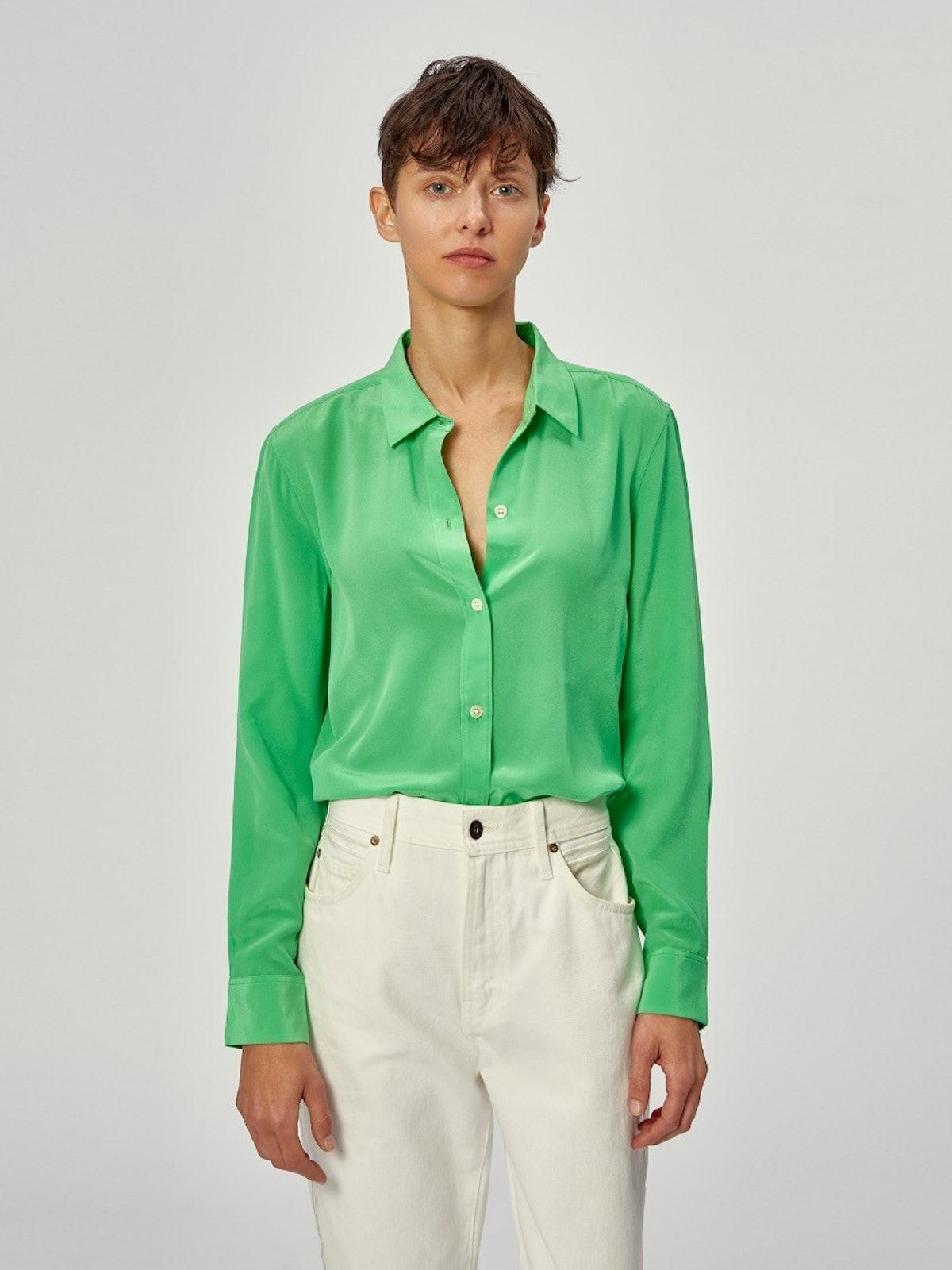 Lena Silk Shirt