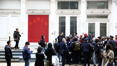 Kanye West The Life of Pablo merch pop up shop new york city