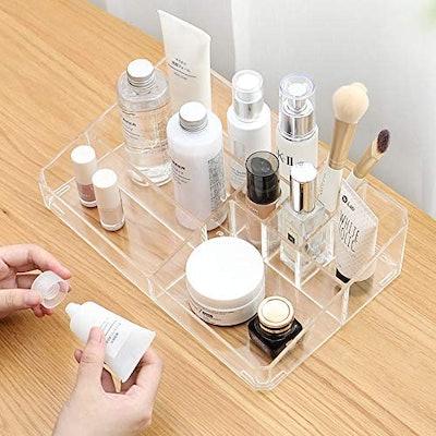 Sooyee Clear Acrylic Makeup Organizer