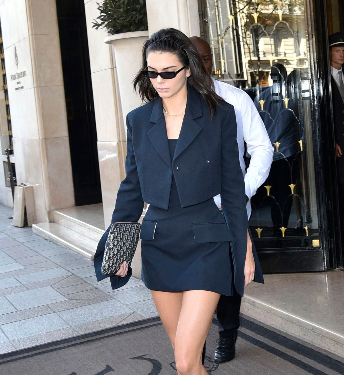 Kendall Jenner out and about, Paris Fashion Week, France - 27 Sep 2018