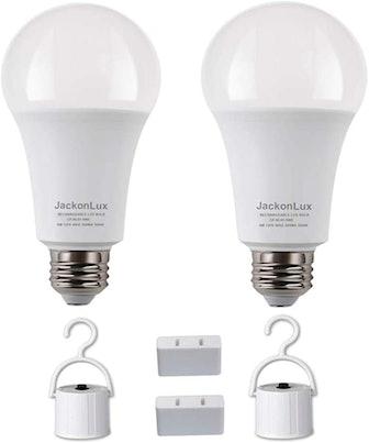 JackonLux Multi-Function Battery Backup Emergency Light