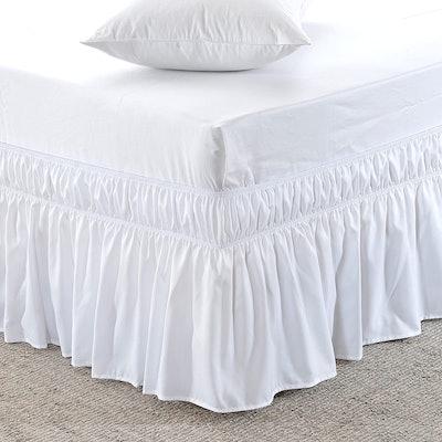 MEILA Adjustable Wrap-Around Bed Skirt