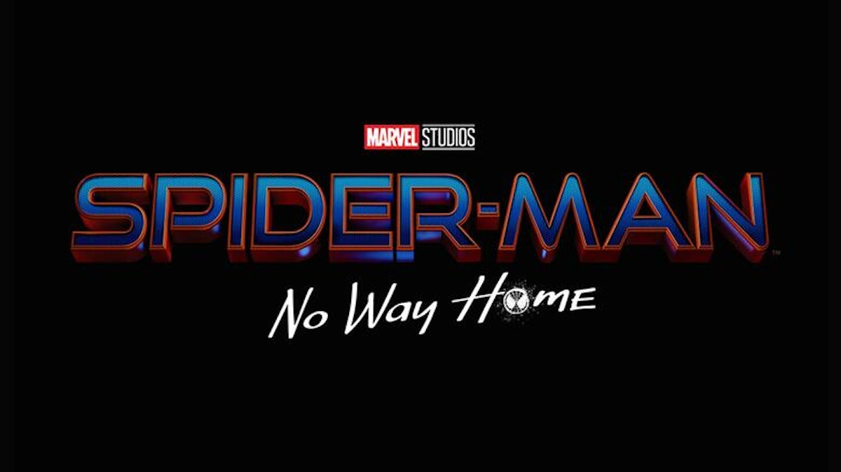 The official title card for 'Spider-Man: No Way Home'