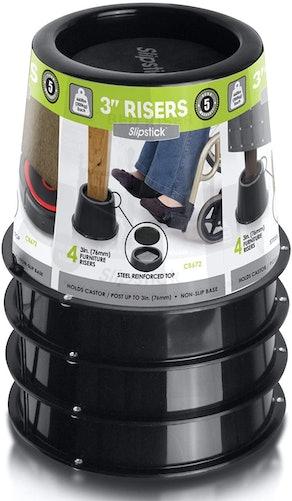 Slipstick 3 Inch Bed/Furniture Risers