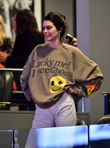 Kendall Jenner Kanye West Kid Cudi Kids See Ghosts album merch