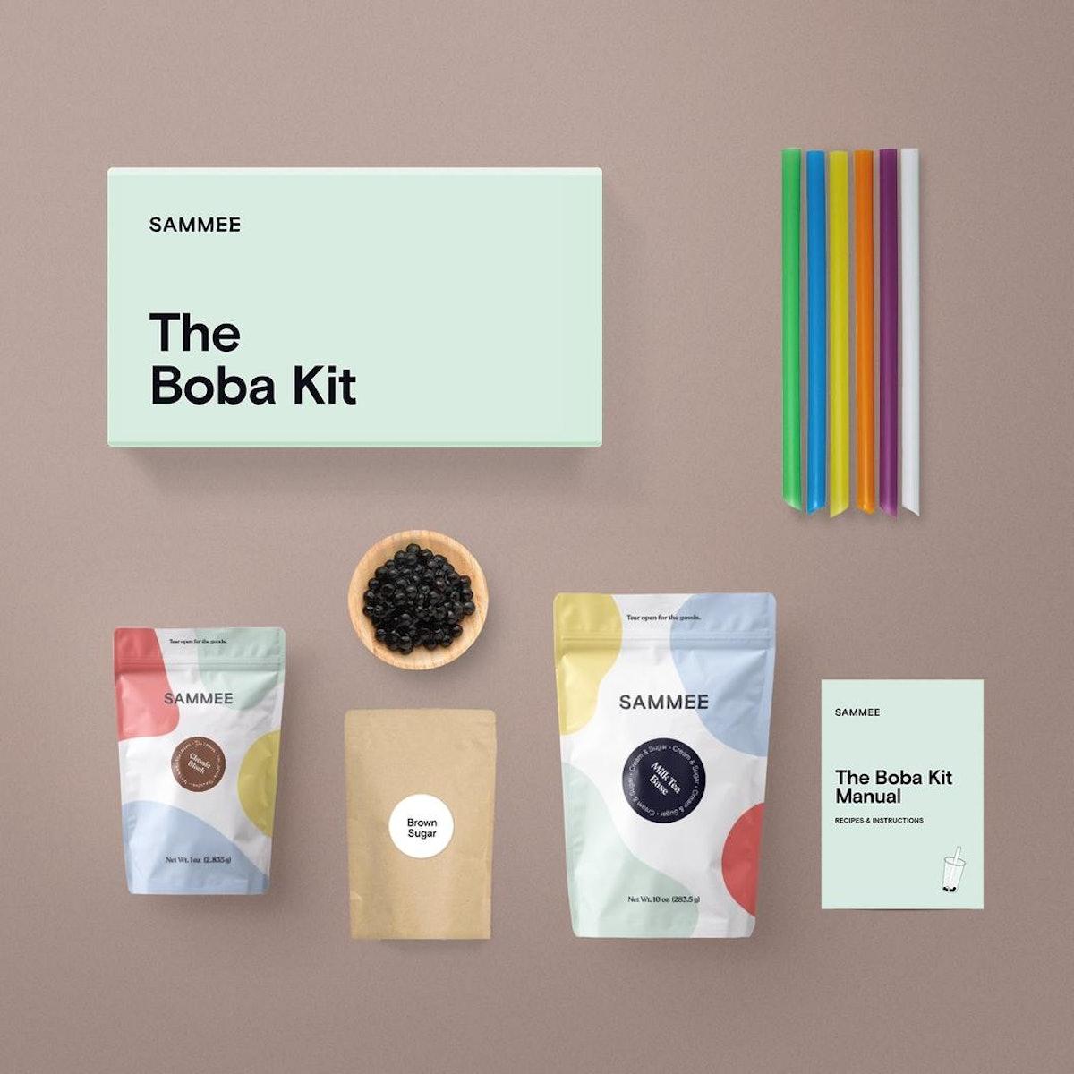 Classic Black Milk Tea Loose-leaf Boba Kit