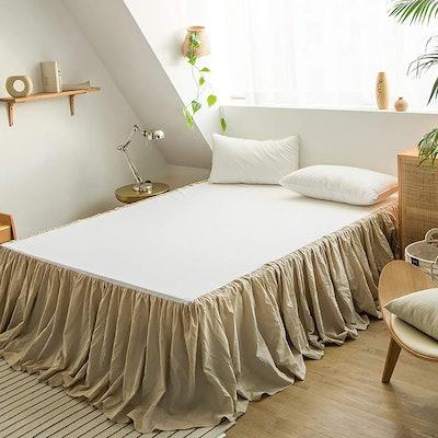 Simple&Opulence Belgian Linen Bed Skirt