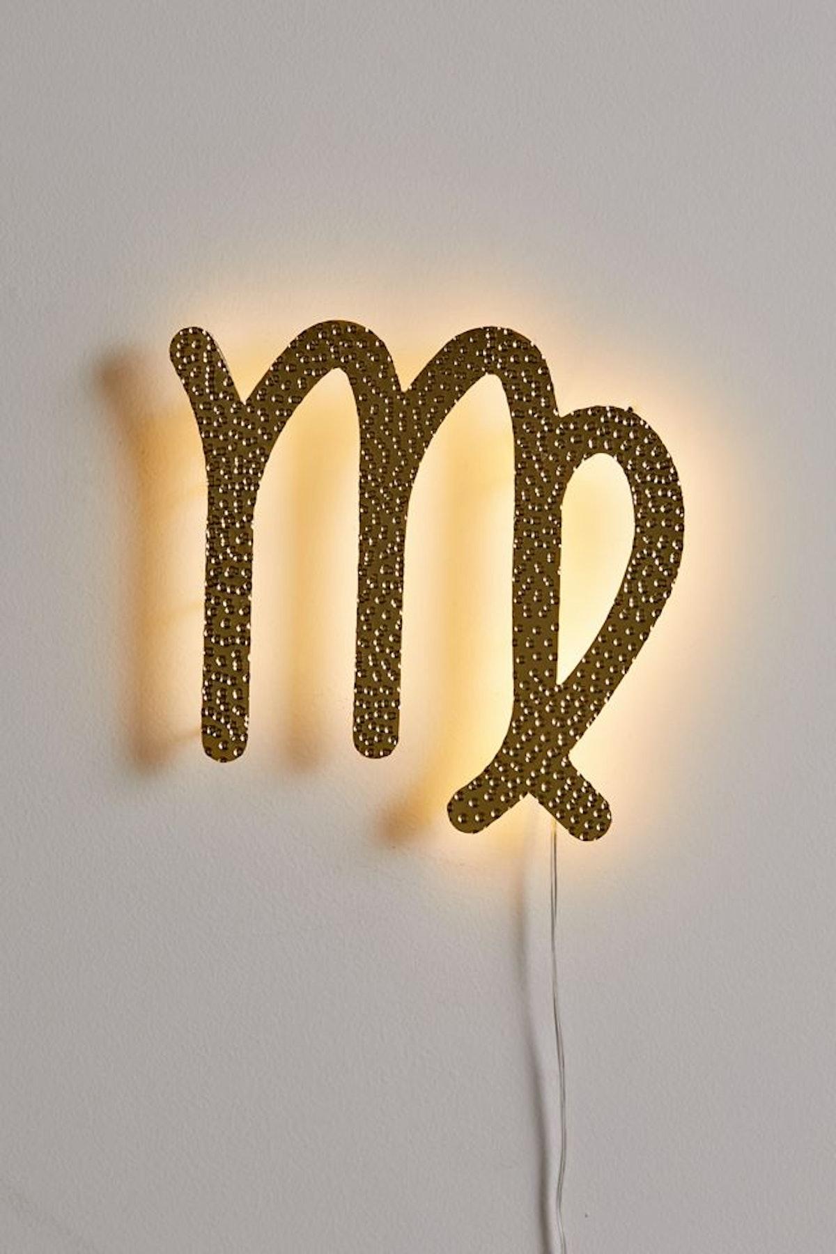 Zodiac Glow LED Sign