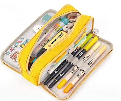 iSuperb Cotton Linen Pencil Case