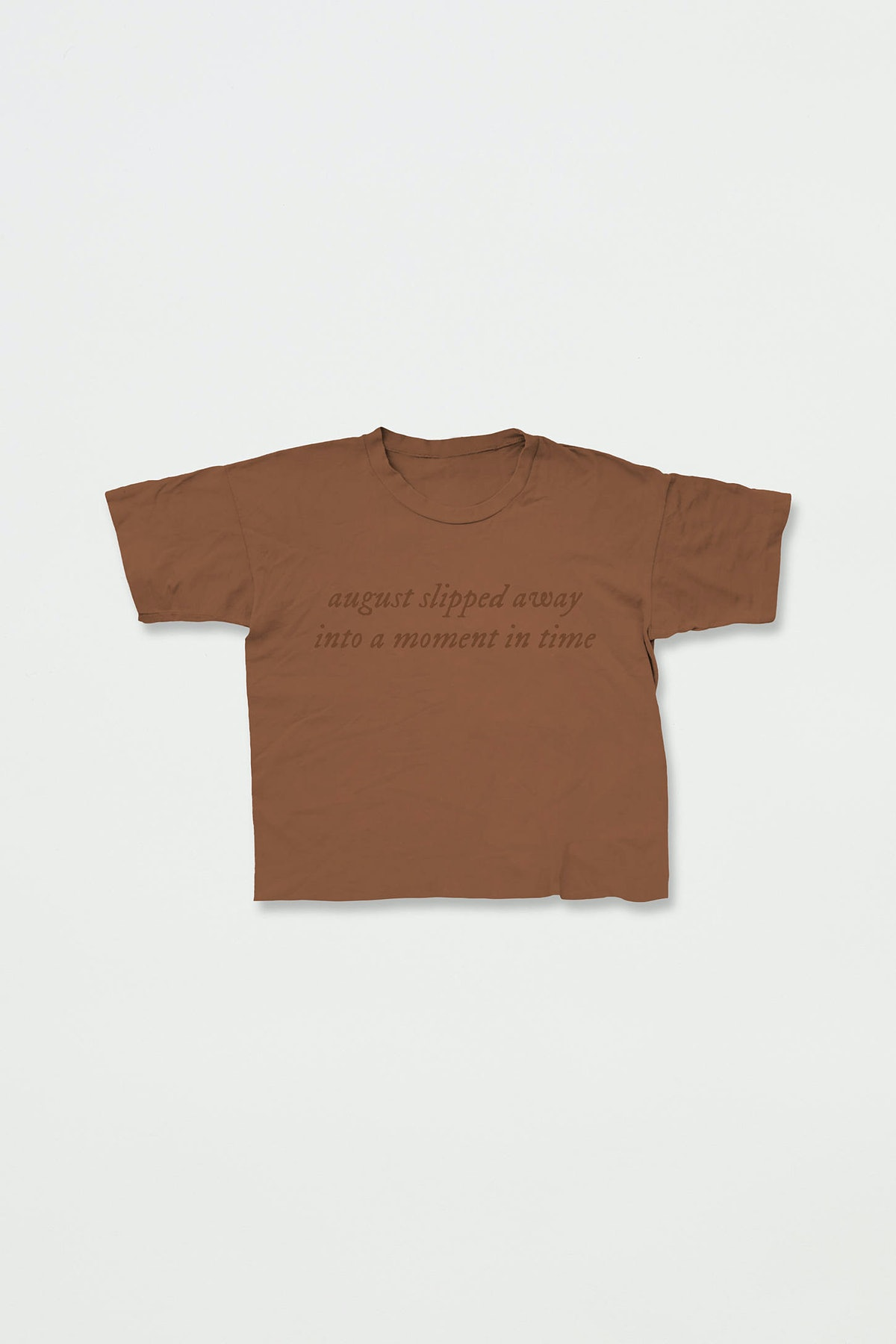 Taylor Swift Folklore Anniversary Collection UO Exclusive Cropped Tee