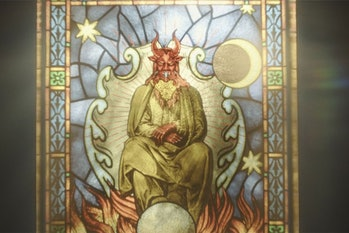 mephisto loki stained glass