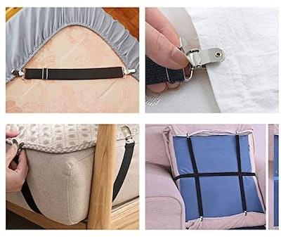 Goodtimes Adjustable Bed Sheet Fasteners