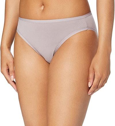 Amazon Essentials Cotton Stretch High-Cut Bikini Panty (6-Pack)