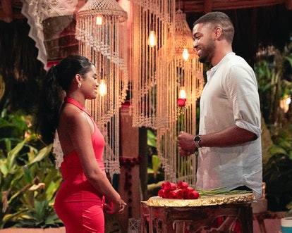 Ivan Hall giving Jessenia Cruz his rose on 'Bachelor in Paradise' Episode 2