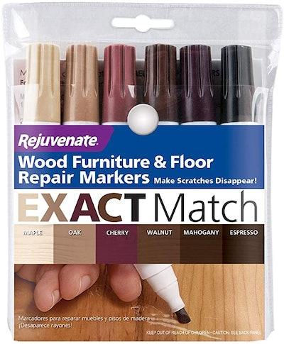 Rejuvenate New Improved Colors Wood Furniture & Floor Repair Markers