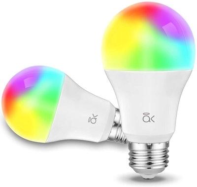 AL Abovelights Smart Light Bulbs (2-Pack)