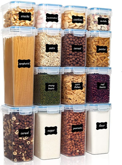 Vtopmart Airtight Food Storage Containers (15 Pieces)