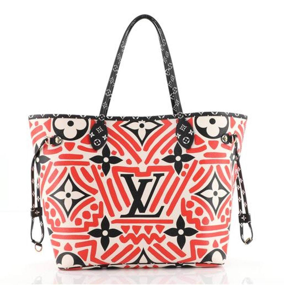 Louis Vuitton Neverfull NM Tote Limited Edition Crafty Monogram