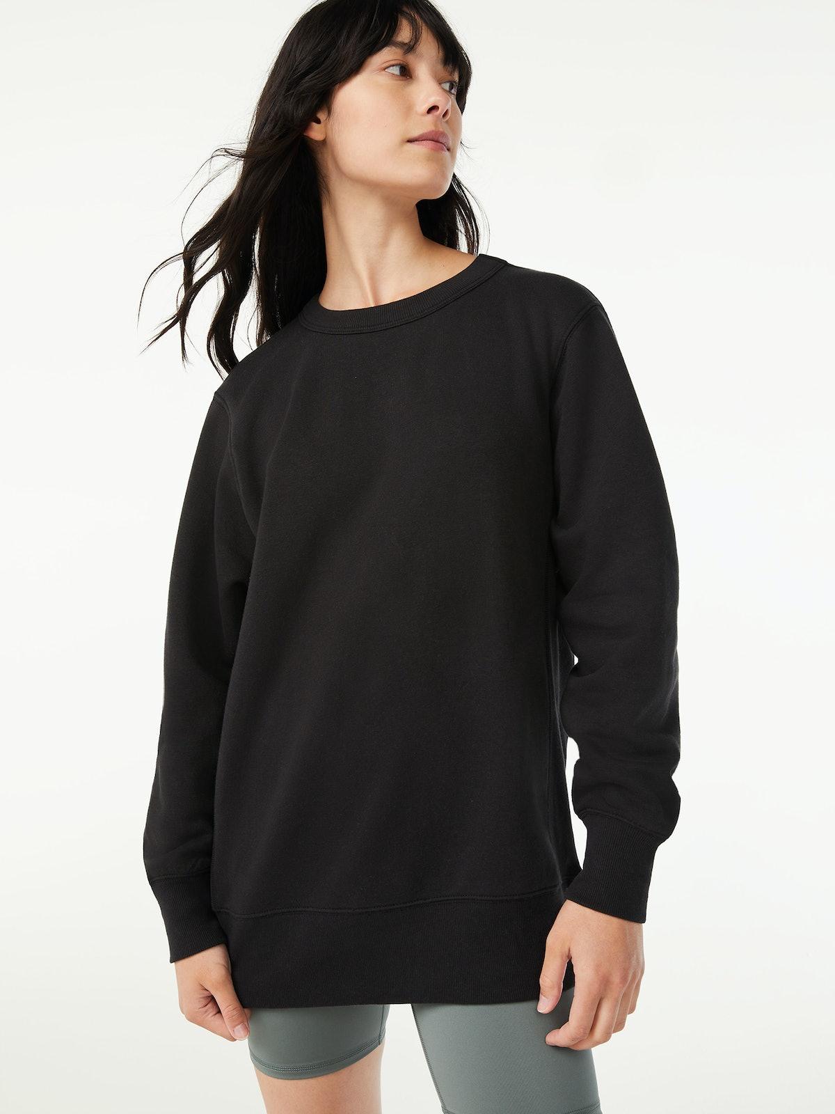 Tunic Fleece Sweatshirt