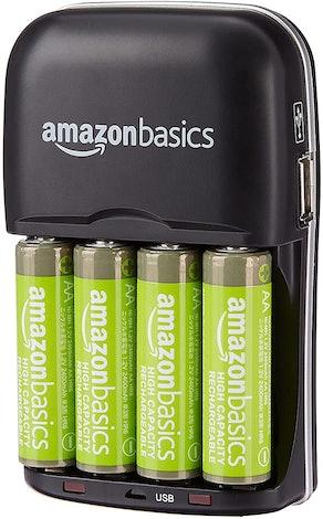 Amazon Basics Rechargable AA Batteries (4-Pack)