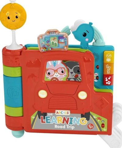 Fisher-Price Sit-to-Stand Giant Activity Book