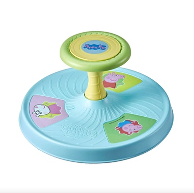 Peppa Pig Sit 'n Spin Musical Classic Spinning Activity Toy