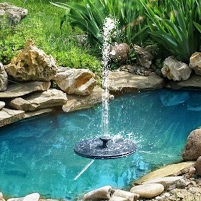 GOLDFLOWER Solar Fountain Pump