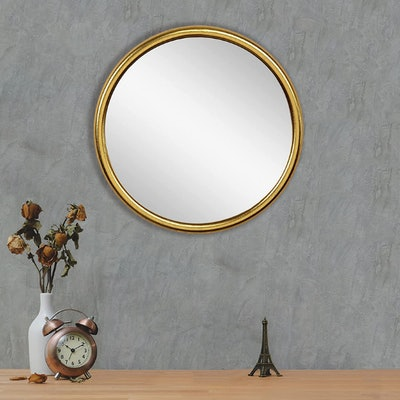 RUIDOZ Round Wall Mirror