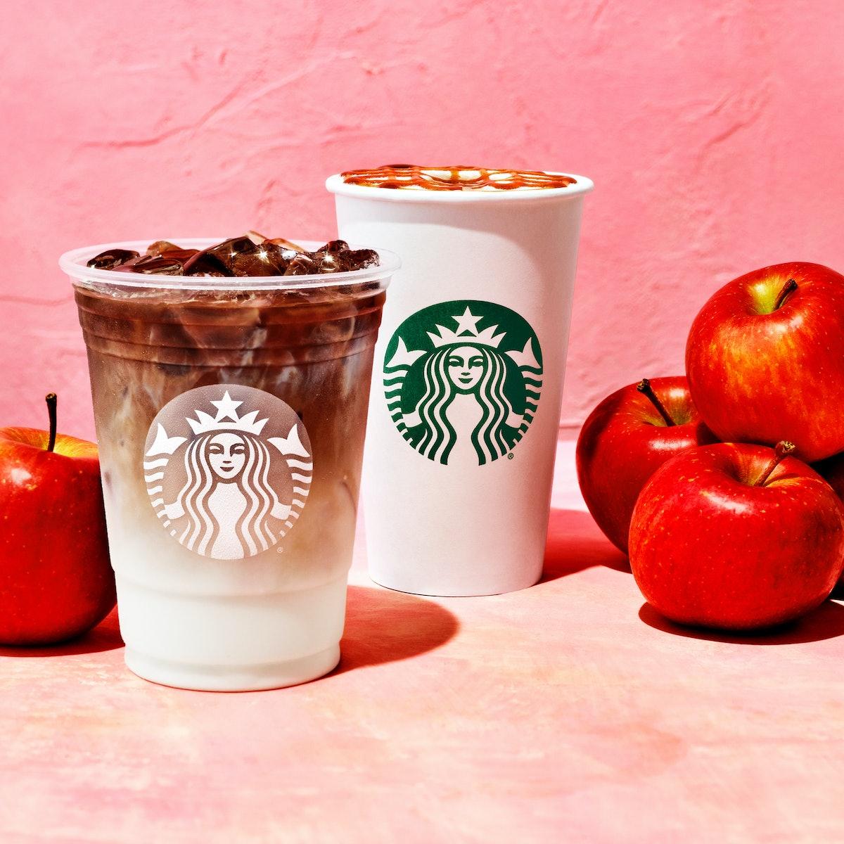 The caffeine in Starbucks' Apple Crisp Macchiato is a boost.